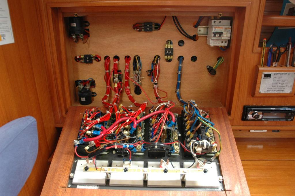 Système électrique du bateau