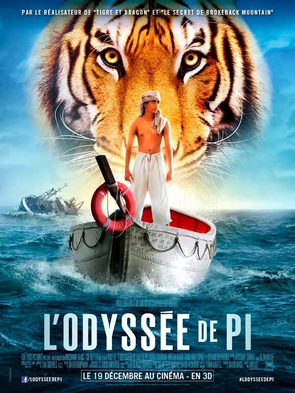 Affiche du film L'odyssée de Pi (2012)