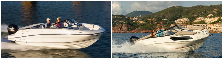 Ces bateaux vous permettront de profiter de la mer pour un prix qui défi toute concurrence. Source : Bayliner