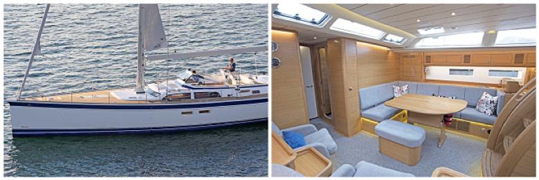 Un bateau luxueux et totalement équipé.