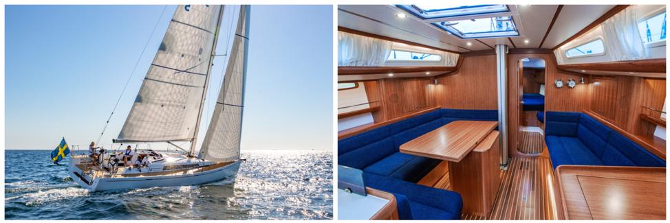 Le grand gagnant du prix yacht européen de l'année 2019 dans la catégorie Performance Cruiser