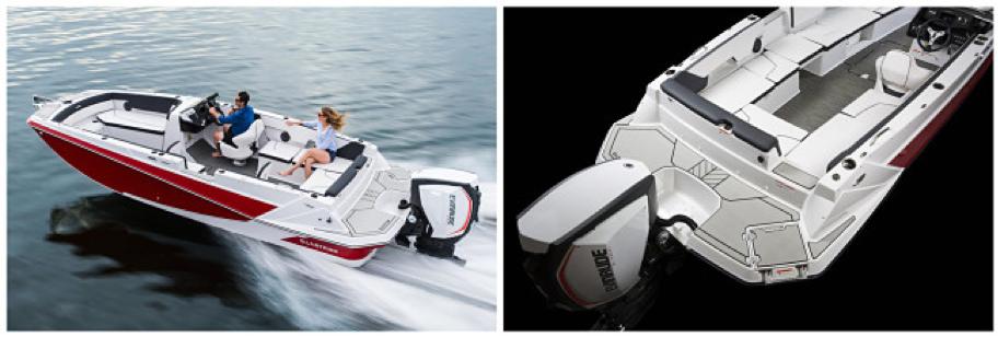 Un bateau moderne et sportif (source :glastron)