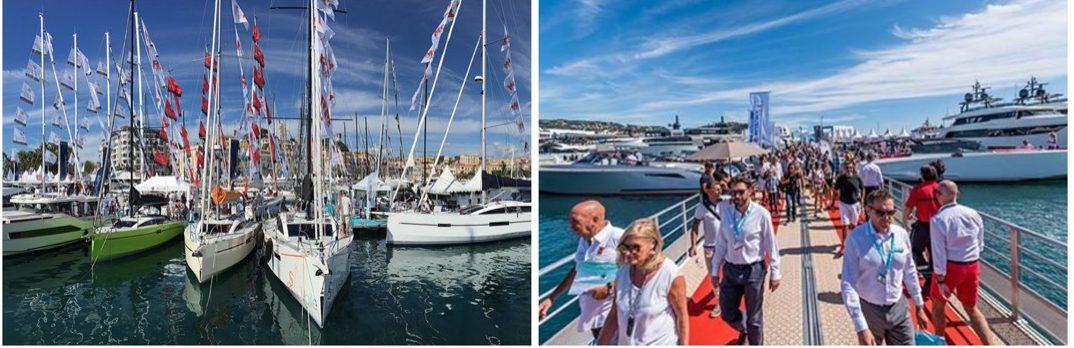 Le salon nautique de Cannes