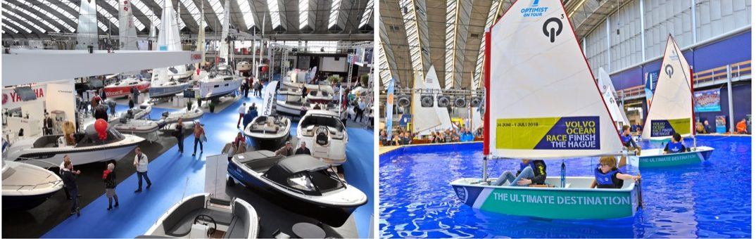 Le salon nautique HISWA d'Amsterdam