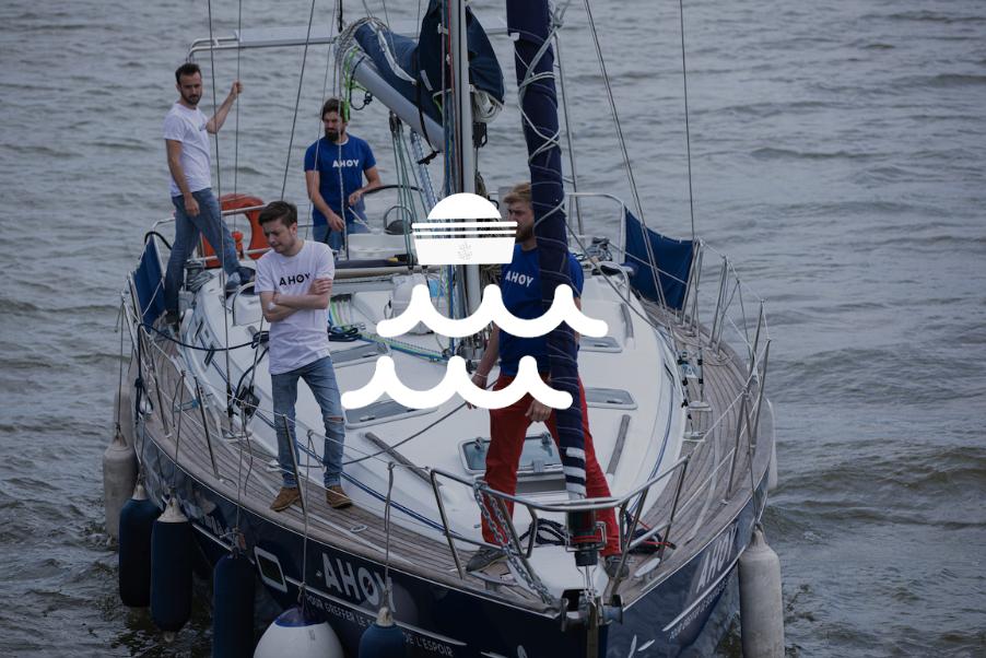 Ahoy: 11 000 milles pour greffer le souffle de l'espoir